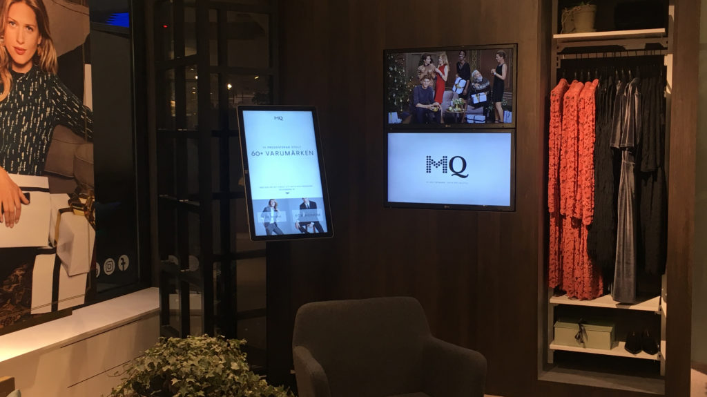 """165ae45f619 These are some examples from MQ, Cervera and Eton. A simple stand that  looks great in the store, adapted to the Elo TouchSystems 32""""."""
